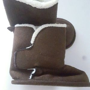 Baby 3-6M brown winter boots